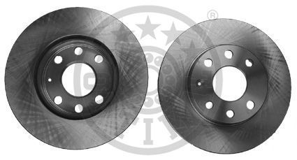 CHEVROLET KALOS 2016 Bremsscheiben - Original OPTIMAL BS-0610 Ø: 236,3mm, Bremsscheibendicke: 19,9mm