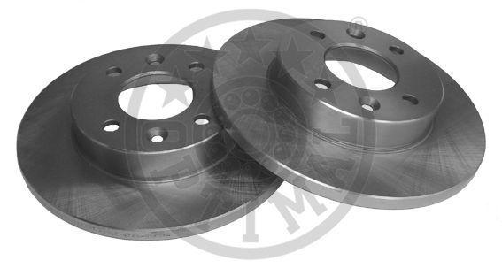 238X12 OPTIMAL Vorderachse, Voll Ø: 238mm, Bremsscheibendicke: 12mm Bremsscheibe BS-0670 günstig kaufen