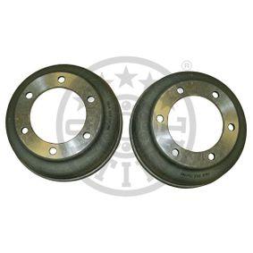 BT-0800 OPTIMAL 318mm, Rear Axle Drum Ø: 280 Brake Drum BT-0800 cheap