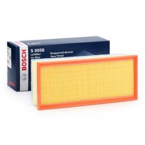 Vzduchový filter F 026 400 058 PEUGEOT 807 v zľave – kupujte hneď!