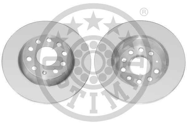 Achat de BS-8038C OPTIMAL Essieu arrière, plein, revêtu Ø: 282mm, Épaisseur du disque de frein: 12mm Disque de frein BS-8038C pas chères