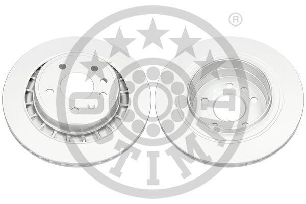 BS-8402C OPTIMAL Hinterachse, belüftet, beschichtet Ø: 300mm, Bremsscheibendicke: 20mm Bremsscheibe BS-8402C günstig kaufen