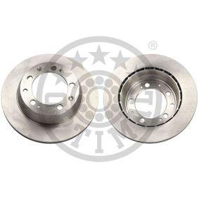 BS8930 Bremsscheiben OPTIMAL BS-8930 - Große Auswahl - stark reduziert