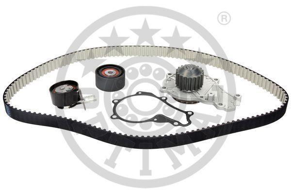 OPTIMAL: Original Wasserpumpe + Zahnriemensatz SK-1424AQ1 (Breite: 25mm)