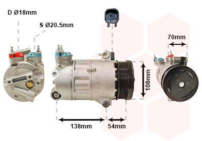 Original LAND ROVER Kompressor 1800K478