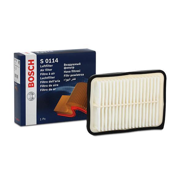 Zracni filter F 026 400 114 z izjemnim razmerjem med BOSCH ceno in zmogljivostjo
