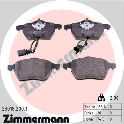 OE Original Bremsklötze 23018.200.1 ZIMMERMANN