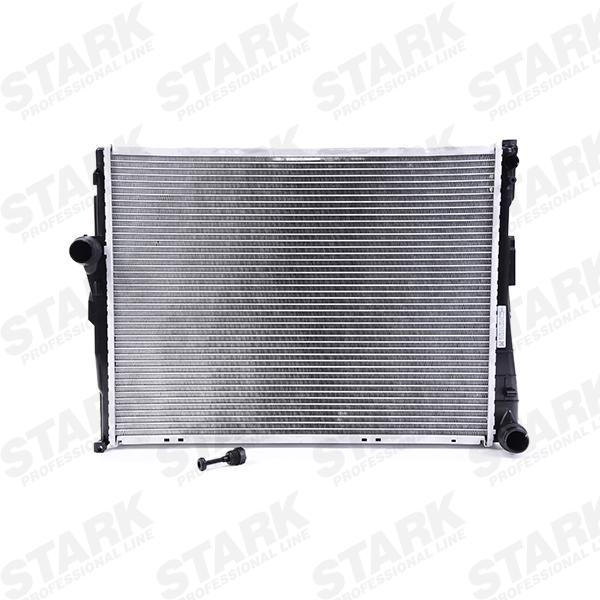 SKRD-0120005 STARK mit Zubehör, ohne Sensor, Kühlrippen gelötet, Aluminium, Schalt-/optional Automatikgetriebe Netzmaße: 580x438x32 [mm] Kühler, Motorkühlung SKRD-0120005 günstig kaufen