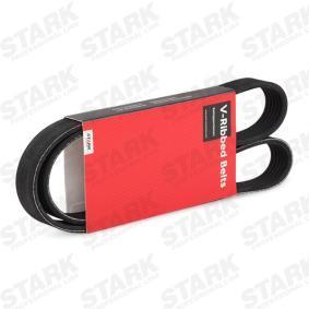 V formos rumbuoti diržai SK-6PK1045 su puikiu STARK kainos/kokybės santykiu