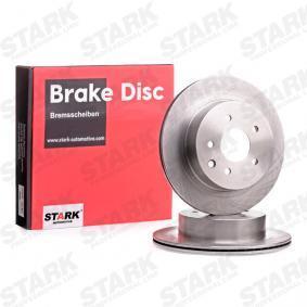 SKBD-0020155 STARK Hinterachse, Innenbelüftet, ohne Radnabe, ohne Radbefestigungsbolzen Ø: 292mm, Bremsscheibendicke: 16mm Bremsscheibe SKBD-0020155 günstig kaufen