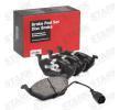 SKBP-0010032 STARK Bremsbelagsatz, Scheibenbremse - online kaufen
