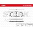 Original Bremsesystem SKBP-0010048 Citroen