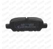Bremsbelagsatz Scheibenbremse SKBP-0010053 mit vorteilhaften STARK Preis-Leistungs-Verhältnis