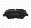 Bremsbelagsatz, Scheibenbremse SKBP-0010061 Clio III Schrägheck (BR0/1, CR0/1) 1.5 dCi 86 PS Premium Autoteile-Angebot
