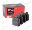 Bromsbelägg SKBP-0010081 som är helt STARK otroligt kostnadseffektivt