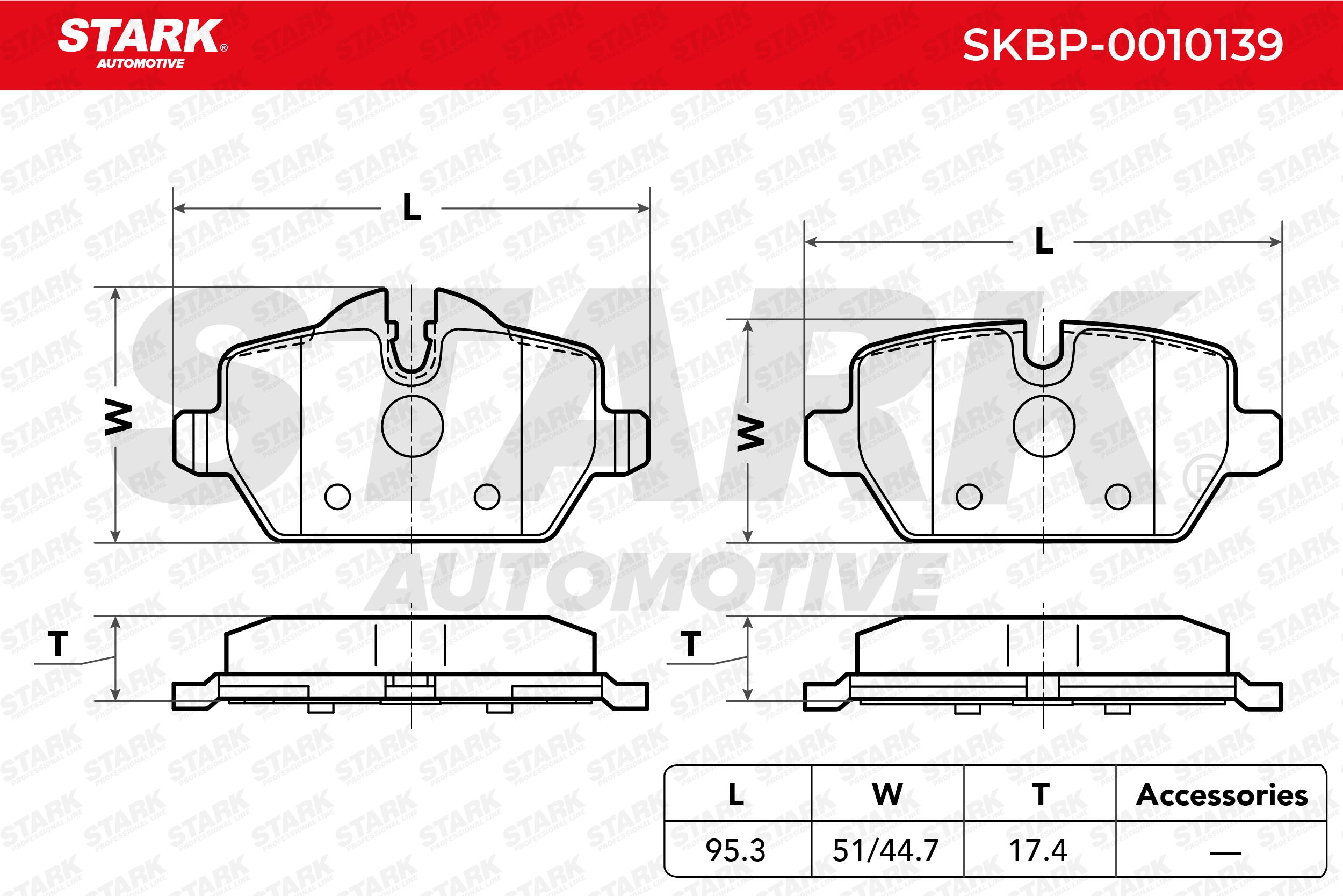 Original BMW Bremsklötze SKBP-0010139