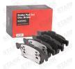 Bremsbelagsatz, Scheibenbremse SKBP-0010145 Espace IV (JK) 2.2 dCi 150 PS Premium Autoteile-Angebot
