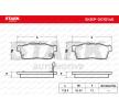 Bremsbelagsatz Nissan Pixo UA0 Bj 2013 SKBP-0010146