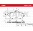 Bremsbelagsatz, Scheibenbremse STARK SKBP-0010151 Bewertungen