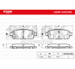Bromsbeläggssats, skivbroms STARK SKBP-0010193 Recensioner