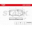 Nutzfahrzeuge STARK Bremsbelagsatz, Scheibenbremse SKBP-0010207 kaufen