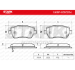 Bremsbelagsatz, Scheibenbremse SKBP-0010234 — aktuelle Top OE 4106 047 75R Ersatzteile-Angebote