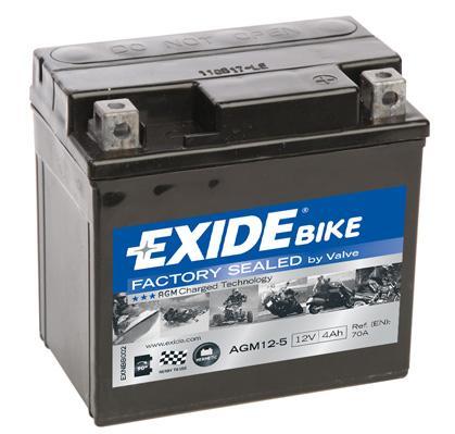 Accu / Batterij EXIDE AGM12-5 KISBEE PEUGEOT