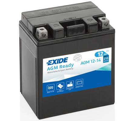 EXIDE AGM Ready Autobaterie AGM12-14 HONDA
