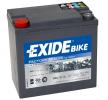 EXIDE GEL Batteri GEL1214