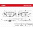 Bremsbelagsatz, Scheibenbremse SKBP-0010051 S-Type (X200) 3.0 V6 238 PS Premium Autoteile-Angebot