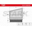 Luftfilter SKAF-0060032 Scénic II (JM) 1.5 dCi 82 PS Premium Autoteile-Angebot