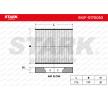 Innenraumfilter SKIF-0170050 mit vorteilhaften STARK Preis-Leistungs-Verhältnis