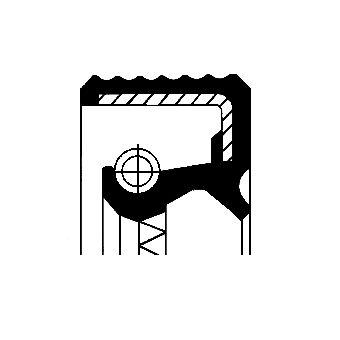 CORTECO Paraolio, mozzo ruota 12015029B: compri online