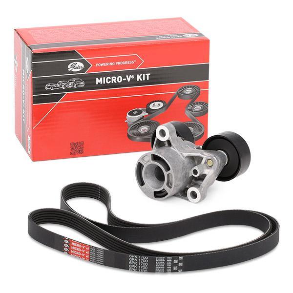 Gates K027PK1078 Ribbed V-Belt Set
