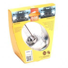 Achat de D3S PHILIPS Xenon Vision 35W, D3S (lampe à décharge), 42V Ampoule, projecteur longue portée 42403VIS1 pas chères