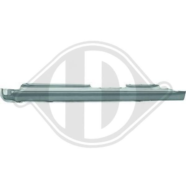 VW SHARAN 2014 Kofferraum Dämpfer - Original DIEDERICHS 9229000 Hub: 200mm