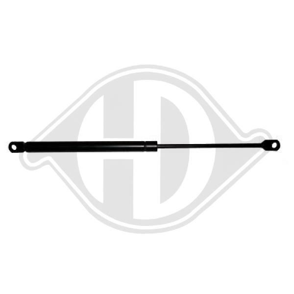 Mercedes VANEO 2005 Gas spring boot DIEDERICHS 9168580: Eject Force: 640N