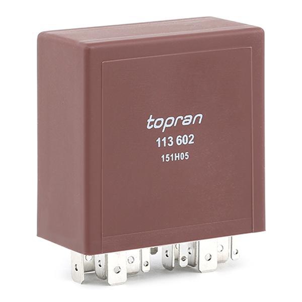 113602 Relais, Wisch-Wasch-Intervall TOPRAN 602 - Große Auswahl - stark reduziert