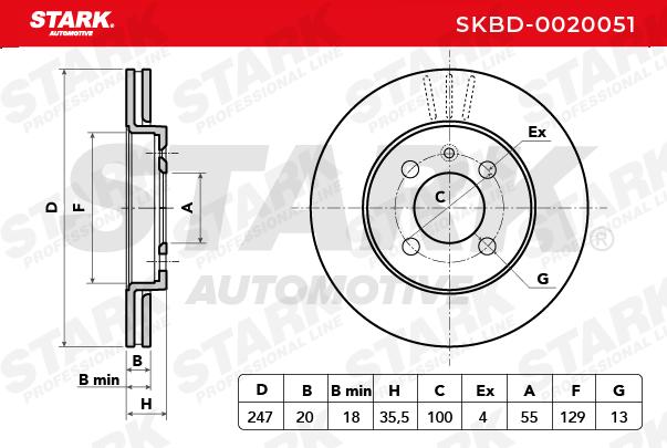 STARK | Bremsscheibe SKBD-0020051