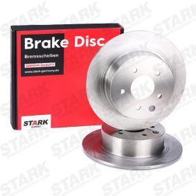 SKBD-0020320 Bremsscheibe STARK in Original Qualität