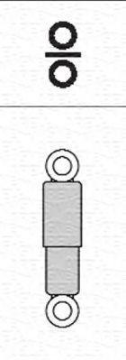 Original SMART Stoßdämpfer Satz 351838070000