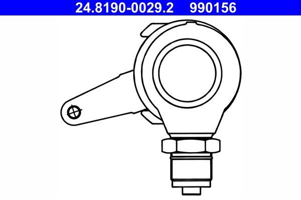 Hebel, Bremssattel-Feststellbremse ATE 24.8190-0029.2 mit 16% Rabatt kaufen