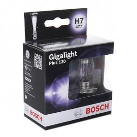 12V55WH7GIGALIGHT120BOXOF2 BOSCH 55W, 12V, H7 Glühlampe, Fernscheinwerfer 1 987 301 107 günstig kaufen