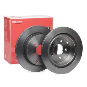 09.B265.11 BREMBO COATED DISC LINE Innenbelüftet, beschichtet Ø: 308mm, Lochanzahl: 5, Bremsscheibendicke: 16mm Bremsscheibe 09.B265.11 günstig kaufen