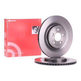 09.B312.11 BREMBO COATED DISC LINE Innenbelüftet, beschichtet, hochgekohlt Ø: 326mm, Lochanzahl: 5, Bremsscheibendicke: 20mm Bremsscheibe 09.B312.11 günstig kaufen