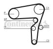 Originales Correas, cadenas, rodillos CT1105K3 Saab