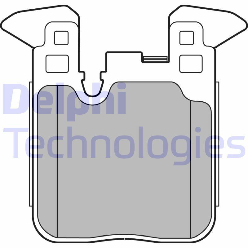 D16568885 DELPHI für Verschleißwarnanzeiger vorbereitet, ohne integrierten Verschleißsensor Höhe 2: 88mm, Höhe: 88mm, Dicke/Stärke 1: 17mm, Dicke/Stärke 2: 17mm Bremsbelagsatz, Scheibenbremse LP2660 günstig kaufen