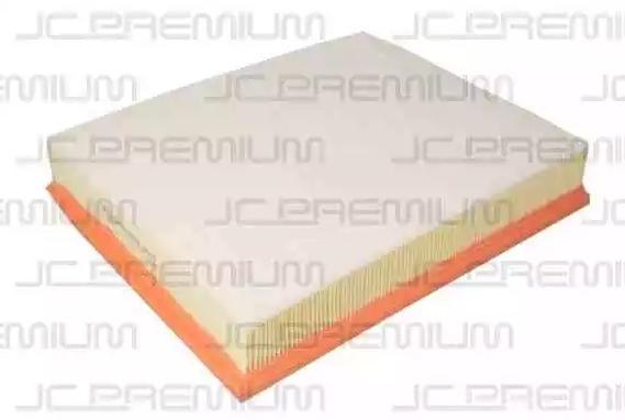 JC PREMIUM: Original Luftfiltereinsatz B2R047PR (Länge über Alles: 318mm, Breite: 262mm, Höhe: 65mm, Höhe 1: 65mm)