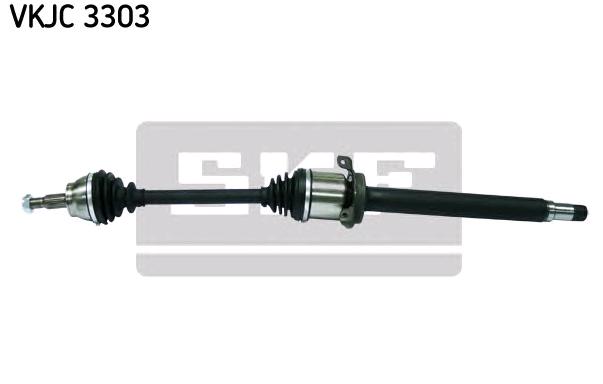 MERCEDES-BENZ T1 Gelenkwellen - Original SKF VKJC 3303 Länge: 956mm, Außenverz.Radseite: 25