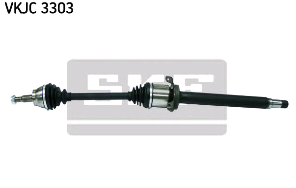 SKF: Original Antriebswellen VKJC 3303 (Länge: 956mm, Außenverz.Radseite: 25)